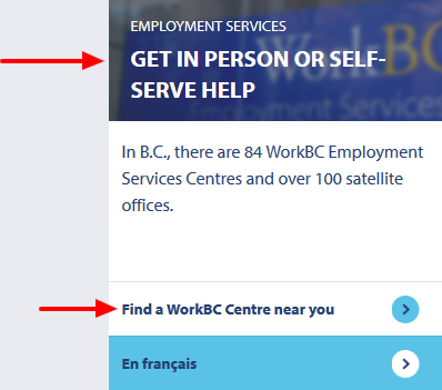 Find a WorkBC Centre near you